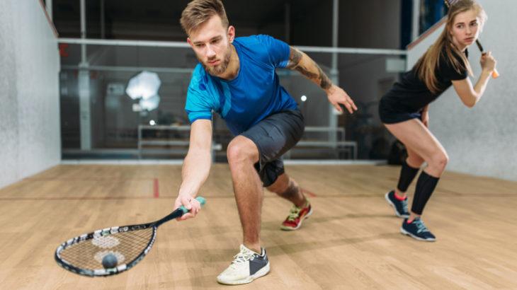Trening squash